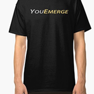 Black YouEmerge T-Shirt