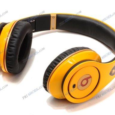 Beats Yellow Headphones