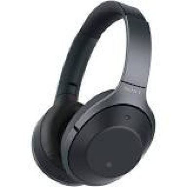 Sony Overear Headphones Black