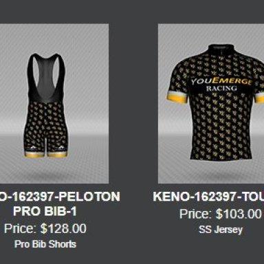 YouEmerge Racing Cycling Uniforms